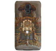 Church organ with mounted clock Samsung Galaxy Case/Skin