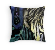 A Girl In A Room Throw Pillow
