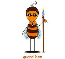bee guard  by Ann-Julia