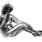 Nude- Life Drawing by Jienn Heibloem