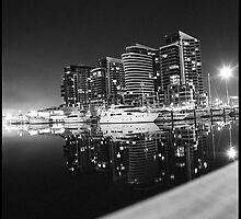 Dockland in Monochrome by Sidqie Djunaedi
