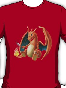 Charizard - Marshmallow T-Shirt