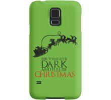 Thrones Christmas: The Night is Dark Samsung Galaxy Case/Skin