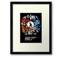 The Incredible World Of 007 Framed Print