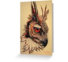 Nocturnal By Nature Greeting Card