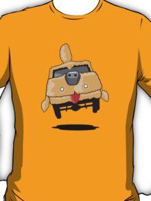 Mutt Cutts Dumb Shag Waggon Dog Car T-Shirt