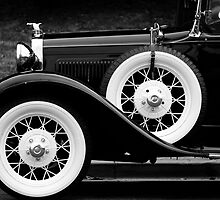 Vintage Car - Circa 1930s by Yip Huang