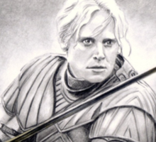 Gwendoline Christie miniature Sticker