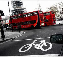LONDON TRAFFIC by webgrrl