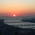 November Sunset in Osaka by redaw11