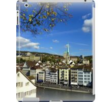 View from Lindenhof iPad Case/Skin