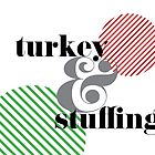 Christmas ampersand - turkey & stuffing by rperrydesign
