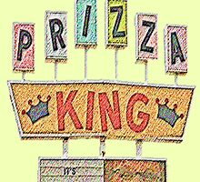 PRIZZA KING Design by SmashBam by SmashBam