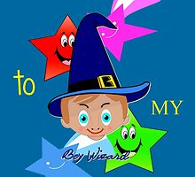 Toon Boy 6b Welcome to My Wizard Party by Dennis Melling