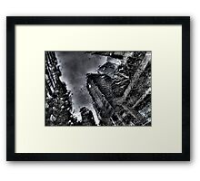 Rain on my Window Framed Print