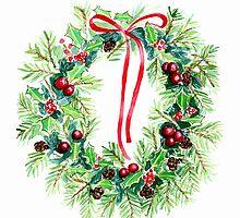 Christmas Wreath  by bridgetdav