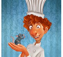 Alfredo Linguini- Ratatouille. by AnMNiniel