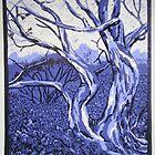 Snowgums by Jean  Burke