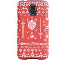 Zelda Christmas Card Jumper Pattern Samsung Galaxy Case/Skin