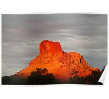 Goyder's Pillar, North Simpson Desert,N.T. Poster