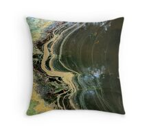 On The Edge Series Number 1 Throw Pillow
