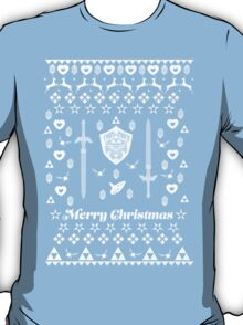 Zelda Christmas Card Jumper Pattern T-Shirt
