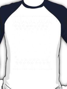 Zelda Christmas Card Jumper Pattern T-Shirt