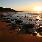 Sunrise at Bells Beach by Vanessa Semmens