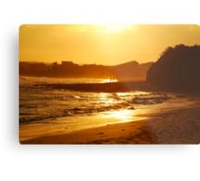 Sunset, Torquay Surf Beach,Great Ocean Road Metal Print