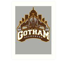 Gotham Reckoners Art Print