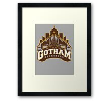 Gotham Reckoners Framed Print