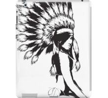 Sexy indian Pinup girl iPad Case/Skin