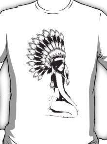 Sexy indian Pinup girl T-Shirt