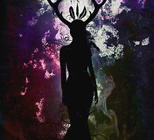 Deer Dreams - Dark Limited Edition by Sybille Sterk