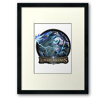 Shockblade Zed - League of Legends Framed Print