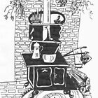 The Old Wood Stove by TrendleEllwood