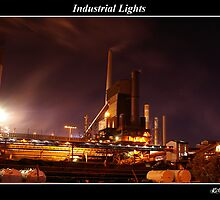 Industrial Lights of The Steelworks by Rob Iles