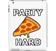 Party Hard Pizza Pixel Art iPad Case/Skin