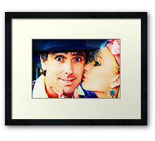 Retro Lovers Framed Print