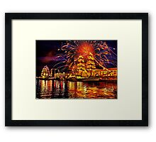 Happy Birthday, America! Framed Print