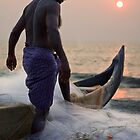 Keralan fisherman by Anthony Begovic