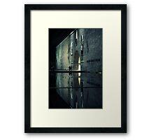 Portal reflection Framed Print