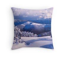 Alps View Throw Pillow