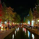Red Light District, Amsterdam by Ludwig Wagner