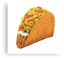 Taco Canvas Print