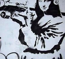 mona lisa bazooka italy weapon by visualartlovers
