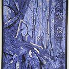 Rainforest Lianas by Jean  Burke