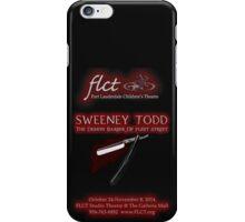 Sweeney Todd iPhone Case/Skin