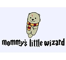 Mommy's Little Wizard Photographic Print
