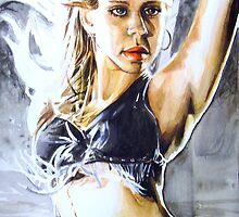 Jessica Alba by hatefueled